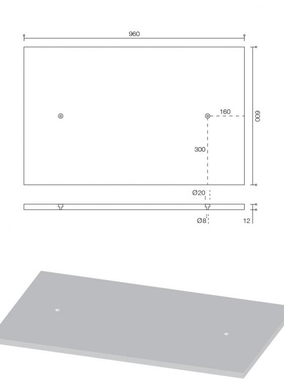 beton wandpaneel technische tekening