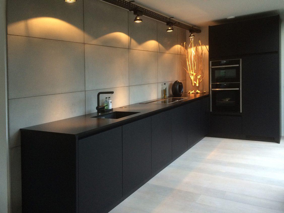 beton achterwand keuken