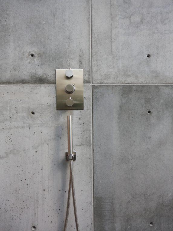 beton tegels buiten
