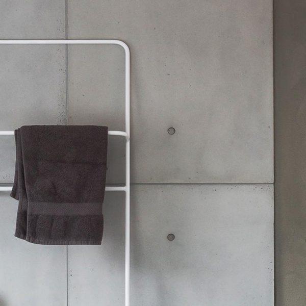 betonnen douche