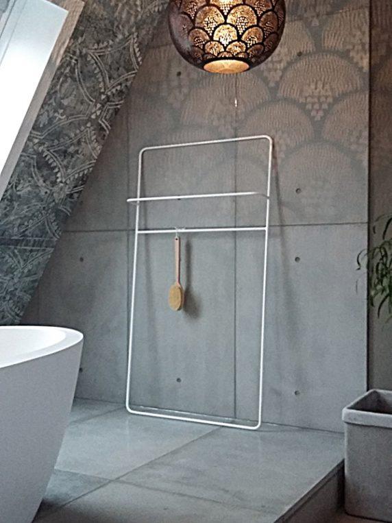 betonnen panelen badkamer