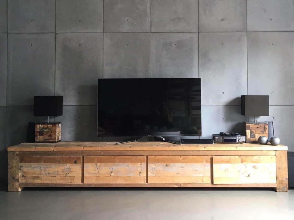 betonnen wandpaneel interieur