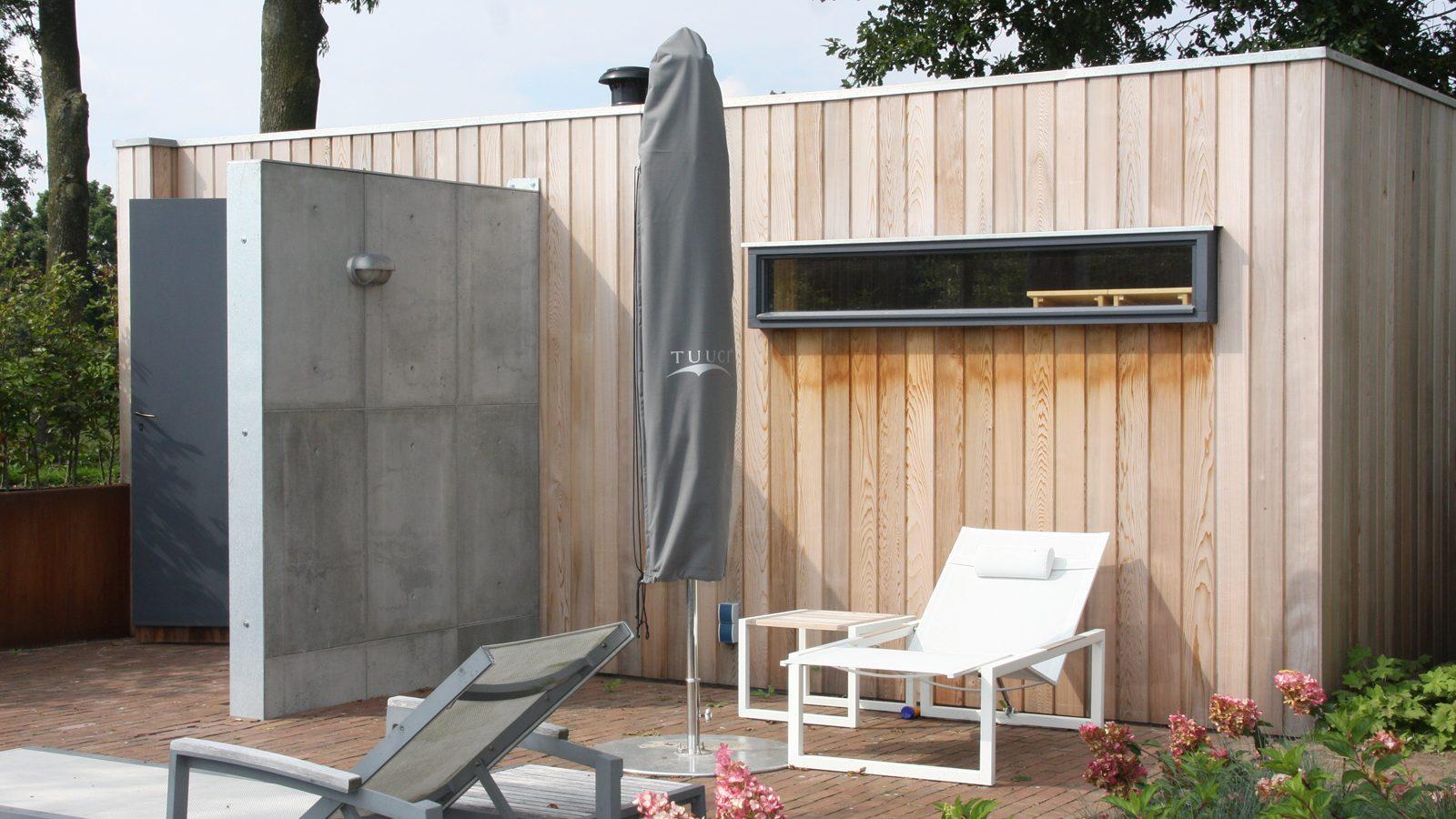 betonwand tuin