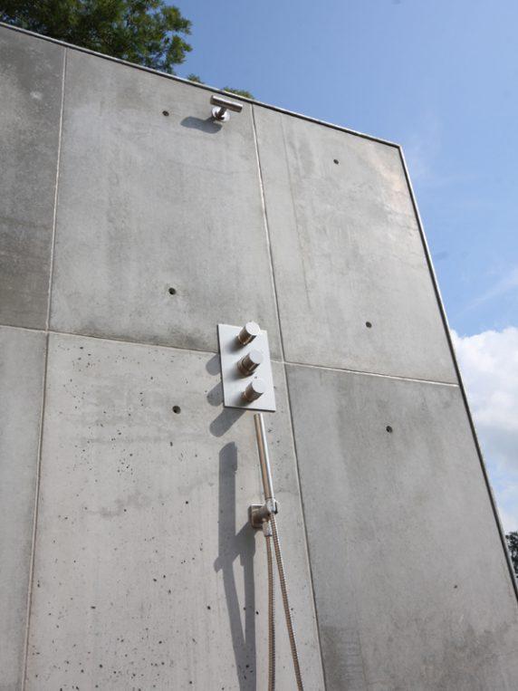 buitendouche beton