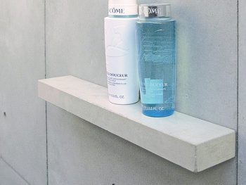 douche planchet beton