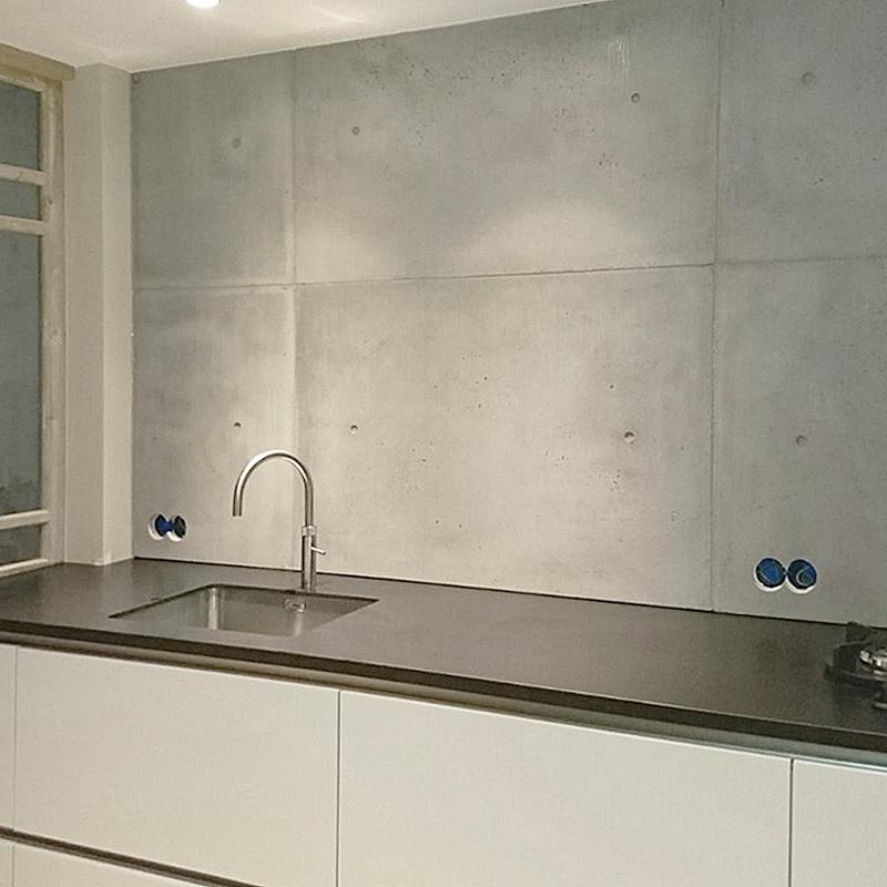 Bestel Hier Je Betonnen Keuken Achterwand Panelen Betonloods